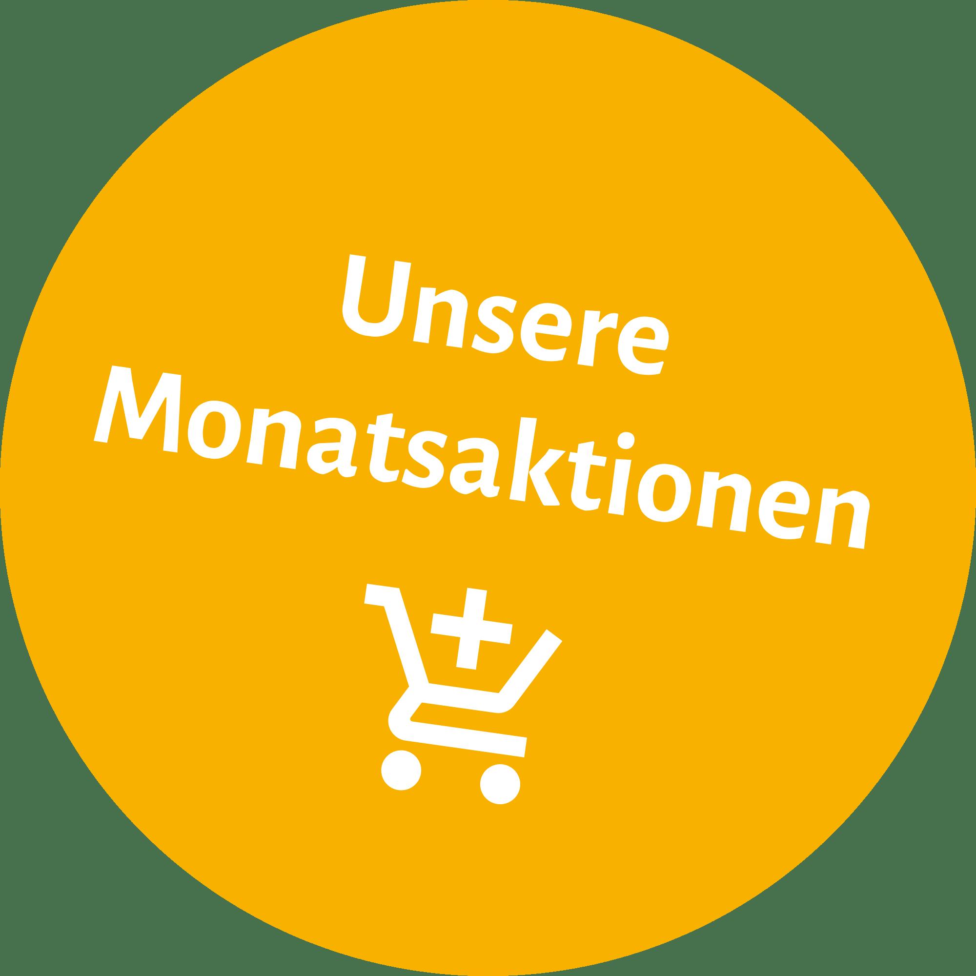 Button für Monatsaktionen